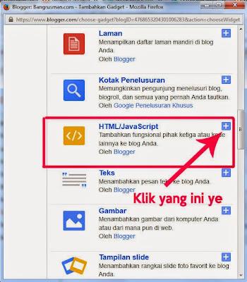 cara menambahkan widget recent post pada blogger
