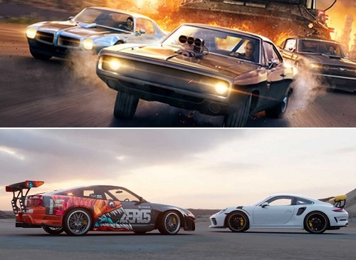 Comparison: Fast and Furious Crossroads vs NFS 2021