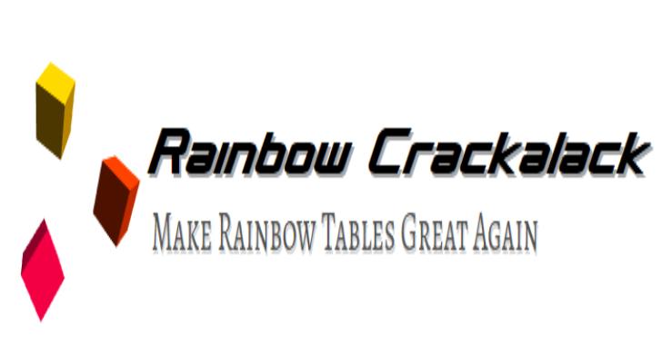 Rainbow Crackalack : Rainbow Table Generation & Lookup Tools