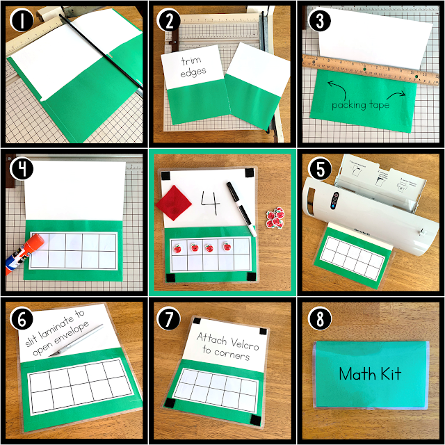 DIT How-To for Math Ten Frame Toolkit