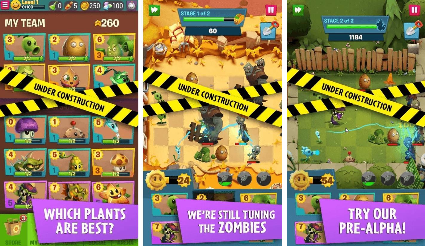 نظرة عامة على النباتات مقابل الكسالى Plants vs. Zombies  3