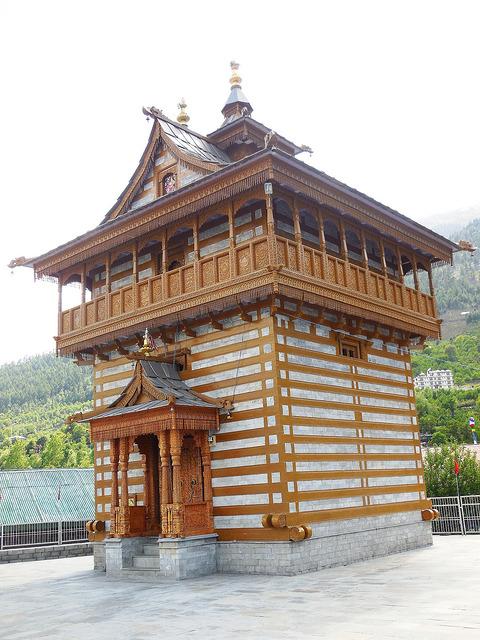 Chandika devi temple at Kalpa town