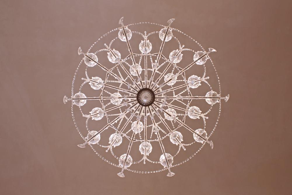 Asti chandelier in Piemonte, Italy - travel & style blog