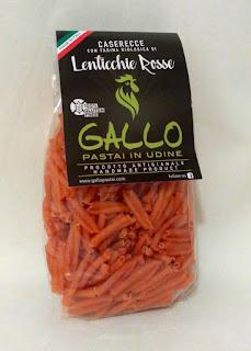 Caserecce di lenticchie rosse