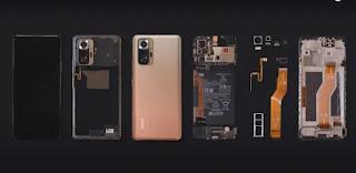 تفكيك هاتف Xiaomi Redmi Note 10 Pro (Max) كاميرا بدقة 108 ميجابكسل