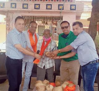 अन्नपूर्णा रोगी सेवा संस्था के अन्न संग्रहण अभियान का समापन