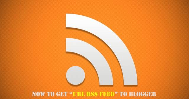 Nguồn cấp dữ liệu RSS hoặc Atom của blog Blogger