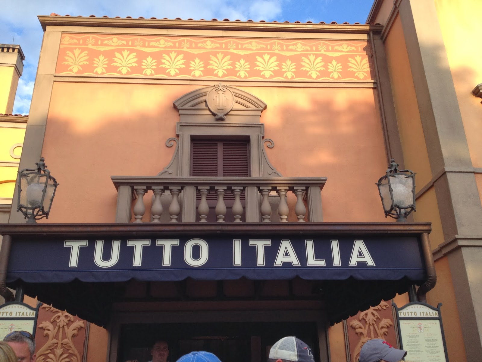 Tutto italia dinner gluten free dairy free at wdw for Tutete italia