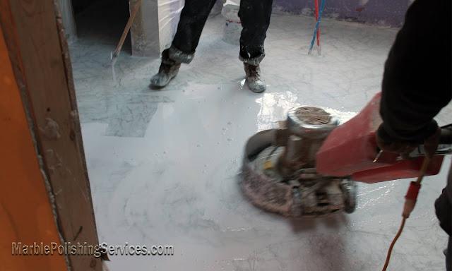 Marble Floor Restoration Philadelphia