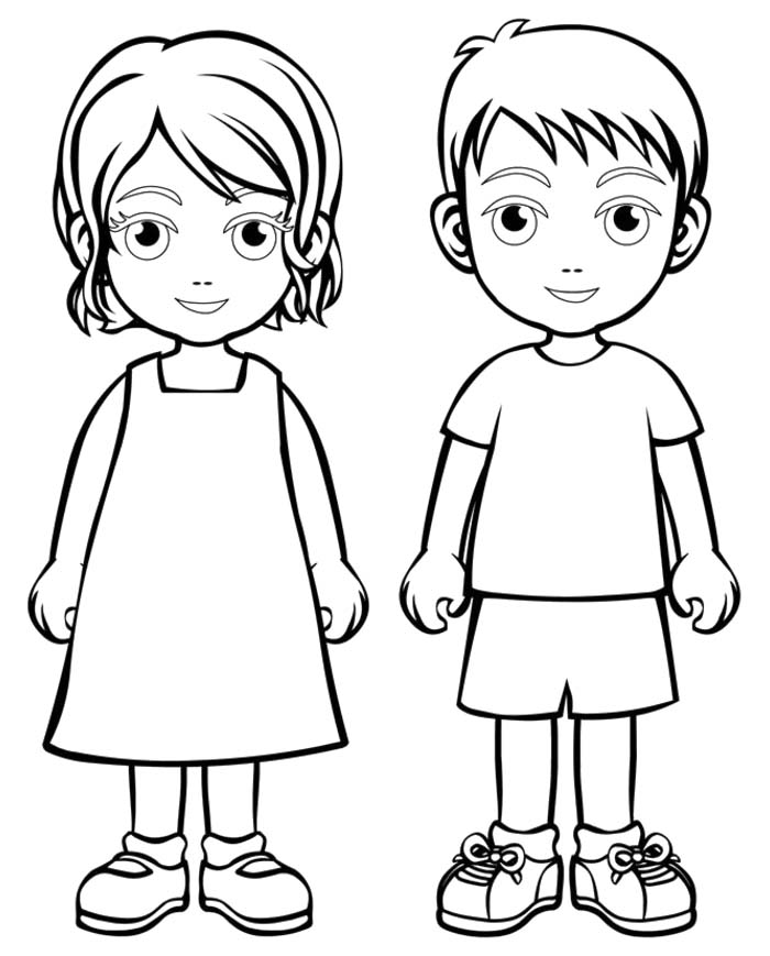Family People and Jobs Coloring Pages November 2015
