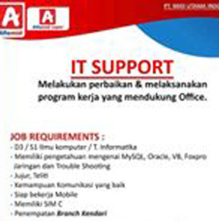 Lowongan Kerja IT Support di PT. Midi Utama Indonesia, Tbk