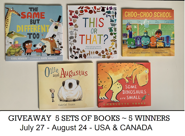 Candlewick Press & Nosy Crow Picture Book Giveaway