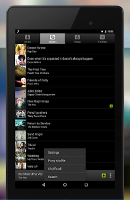 Pemutar MP3 android