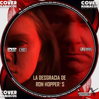 GALLETA LA DESGRACIA DE RON HOPPER´S - RON HOPPER´S MISFORTUNE 2020[COVER DVD]
