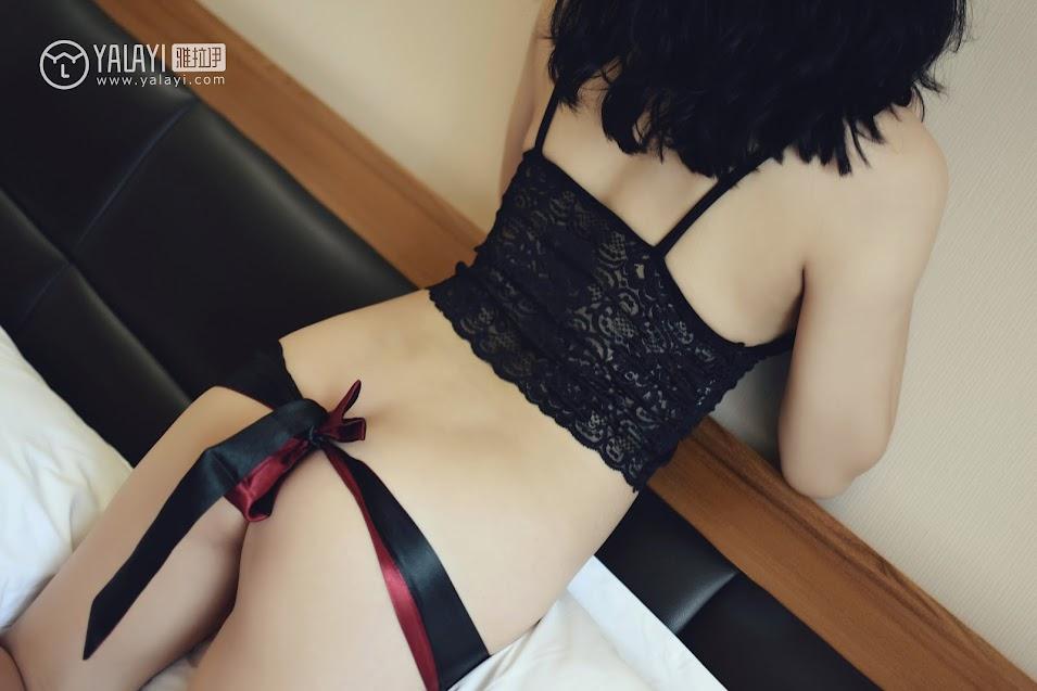 YALAYI雅拉伊  2018.10.15 NO.011 心蕊的睡衣魅惑 米心蕊