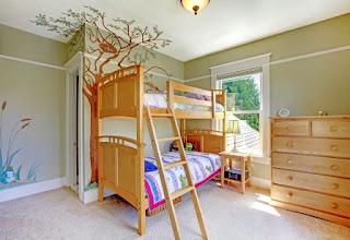 kamar tidur anak bertingkat