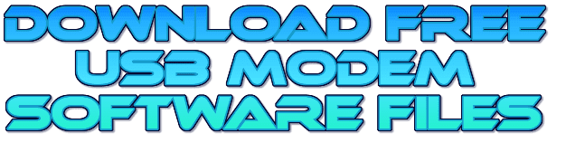 Download Free Usb Modem Software Files
