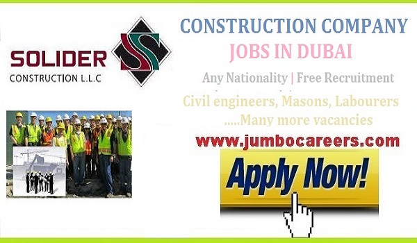 | Civil Foreman Vacancies in Dubai | General Mason jobs in UAE,