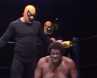 NWA Starrcade 83: A Flare for the Gold - The Assasins beat on Rufus R. Jones
