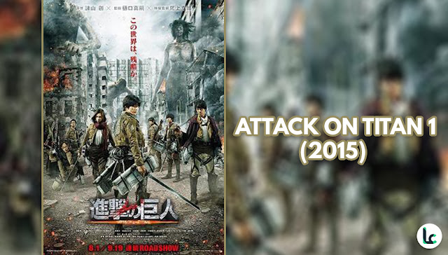Attack on Titan part 1 (Live Action)