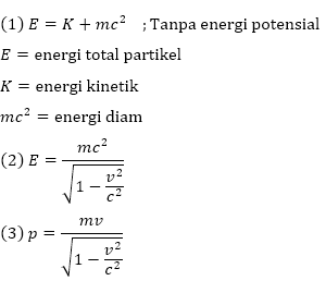 energi dan momentum relativistik