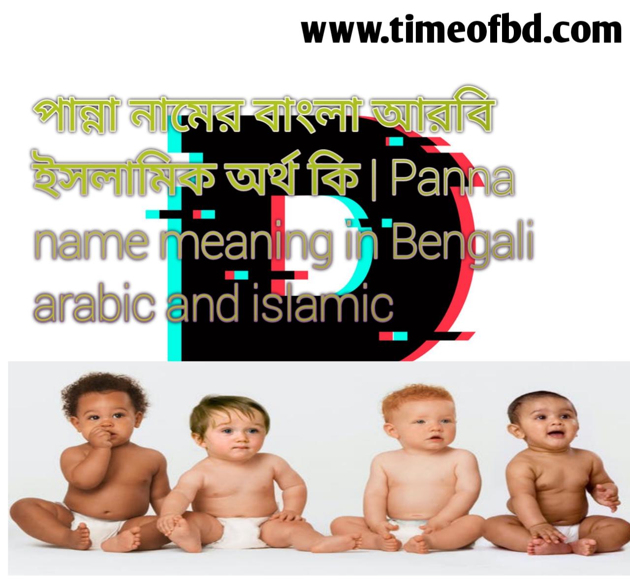 পান্না নামের অর্থ কি, পান্না নামের বাংলা অর্থ কি, পান্না নামের ইসলামিক অর্থ কি, Panna name meaning in Bengali, পান্না কি ইসলামিক নাম,
