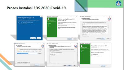 Proses Instarlasi EDS 2020 Covid 19