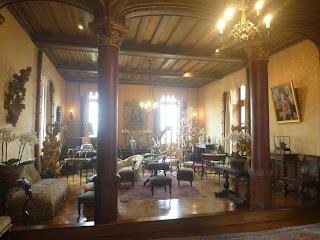visite salon  Chaumont-sur-Loire visite du château