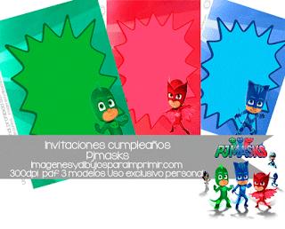 Imprimir invitaciones de cumpleaños gratis de Superheroes