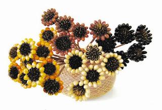Kerajinan Tangan Membuat Bunga Dari Biji Jali