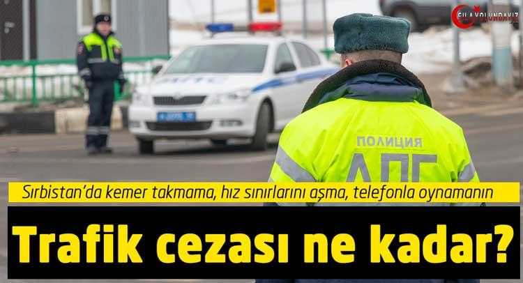 Sila Yolu Sırbistan Trafik Cezaları 2020 Yılında Ne Kadar Oldu?