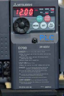 minimum frequency Mitsubishi D700