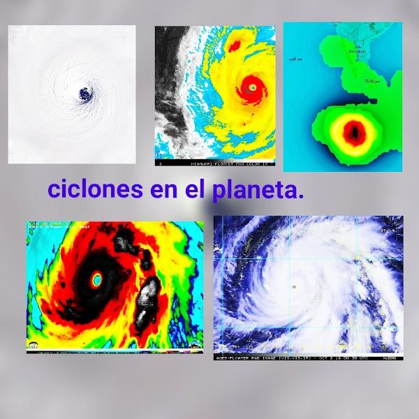 FOTOS: SE han Formado Varios Ciclones En varias Partes Del Planeta.