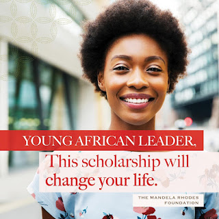 2021 Mandela Rhodes Foundation PG Scholarship | Young African Leaders