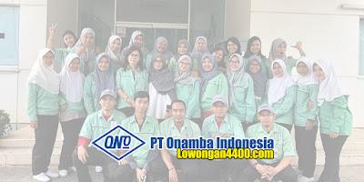 Lowongan Kerja PT Onamba Indonesia Karawang 2020