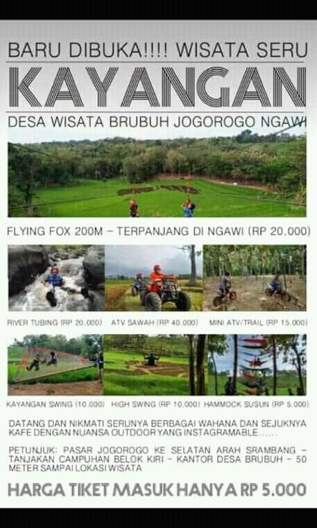 Pesona Kayangan Desa Wisata Brubuh Kecamatan Jogorogo ...