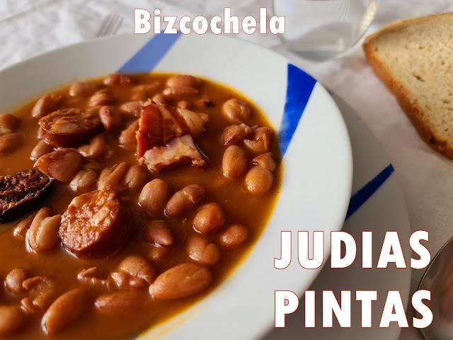 JUDÍAS PINTAS ESTOFADAS