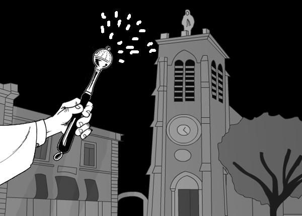 Eglise de Pérols profanation