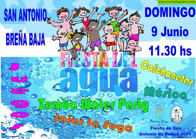 FIESTA SAN ANTONIO DE PADUA: Gran Fiesta del Agua