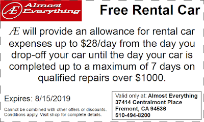 Coupon Free Rental Car July 2019