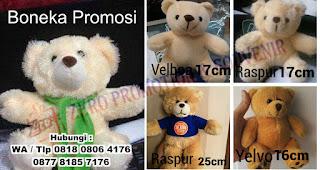 Souvenir Boneka Promosi Teddy Bear, Boneka Maskot Promosi Perusahaan, pusat grosir boneka murah, Pengrajin Boneka, Boneka Gimmick