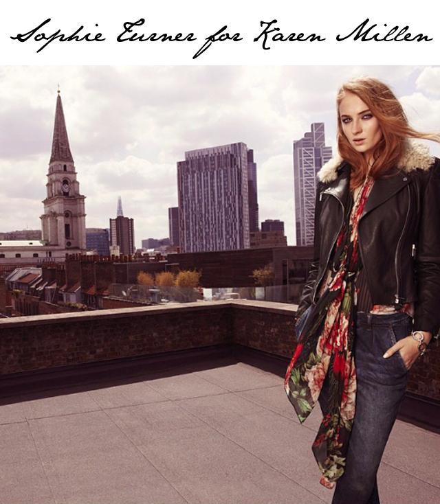 Sophie Turner Karen Millen