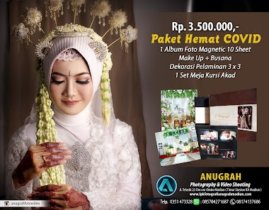 PAKET WEDDING PHOTO & VIDEO ANUGRAH STUDIO