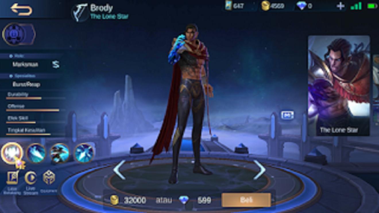 build item brody mobile legends