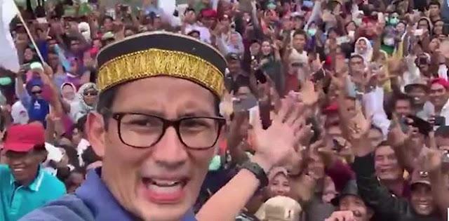 Kata Mantan Kasum TNI, Demam Prabowo-Sandi Seperti Musim Duren