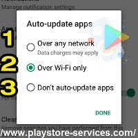 تحديث تطبيقات أندرويد على جوجل بلاي