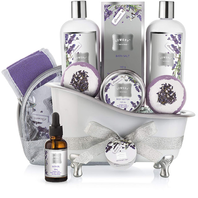Bath Gift Basket Set for Women