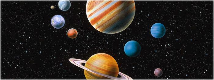 por que os planetas tem cores diferentes?