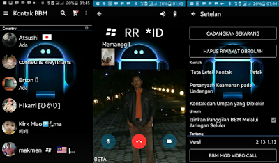 Download BBM Mod Transparant With Video Call V3.1.0.13 Apk