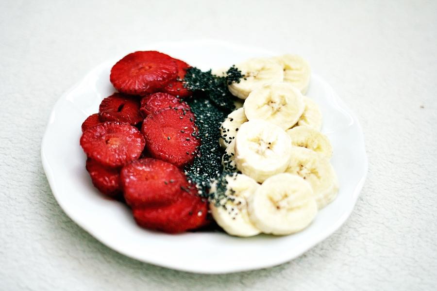 chia seeds banana